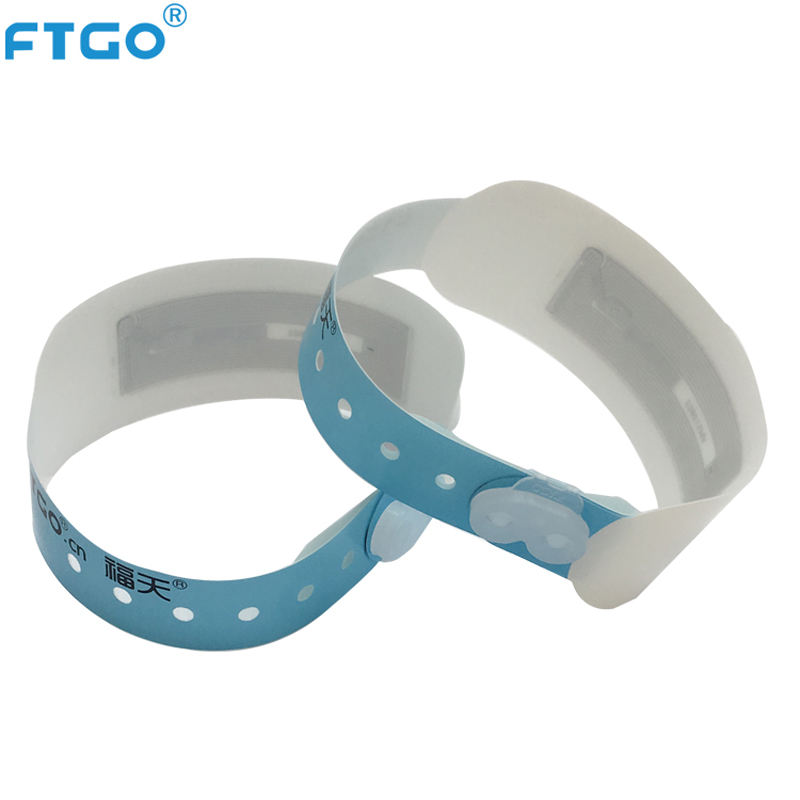 FTGO brand wholesale best quality rfid wrist band party bracelet for event