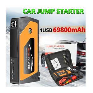 12 v Lithium-Multi Funktion notfall auto batterie power 69800 mah tragbare auto starthilfe