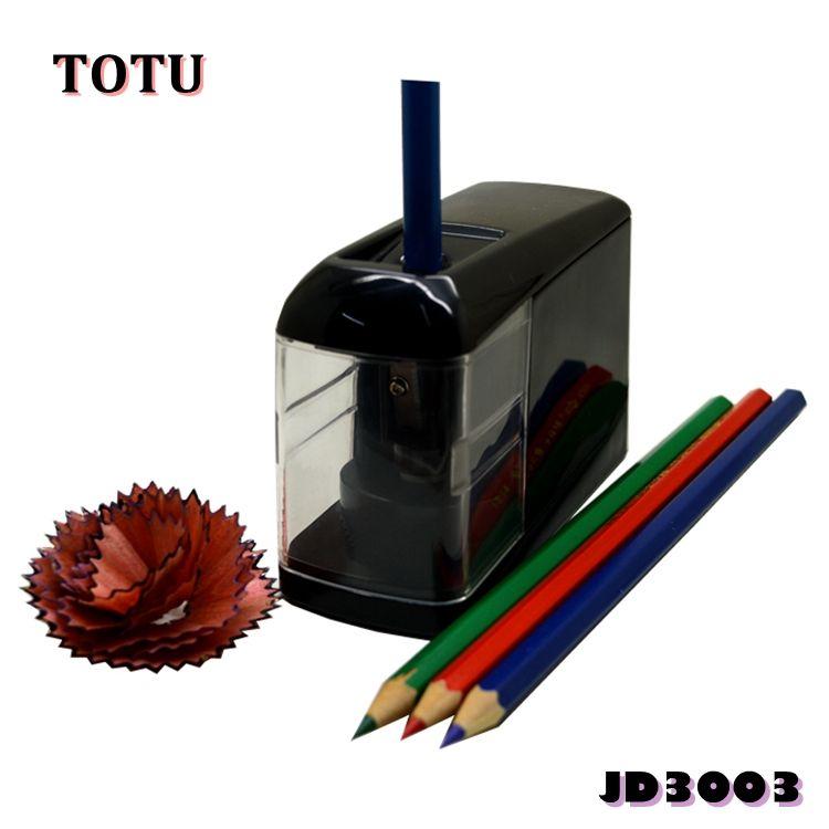 2018 professionelle ABS AUTO Start & Stop Schule Elektrische Bleistift spitzer/104x45x78mm/JD3003 Schwarz mit 1 loch für KUNST