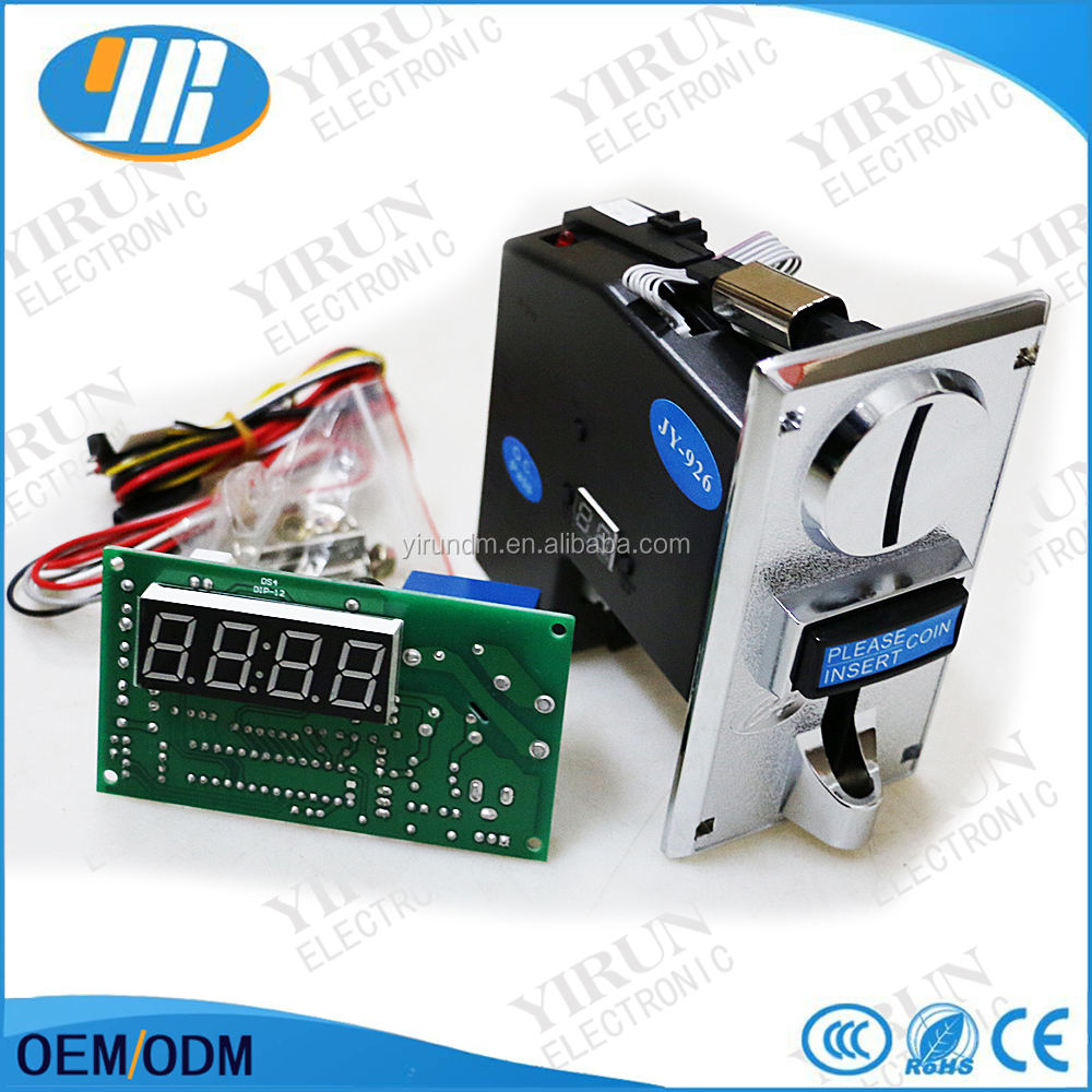 CH-926 Multi coin select acceptor with timer control board for vending machine washing machine