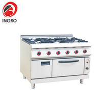 Restaurant Commercial Cooker Stove/Gas Stove With Induction Cooktop/Stoves For Small Kitchens