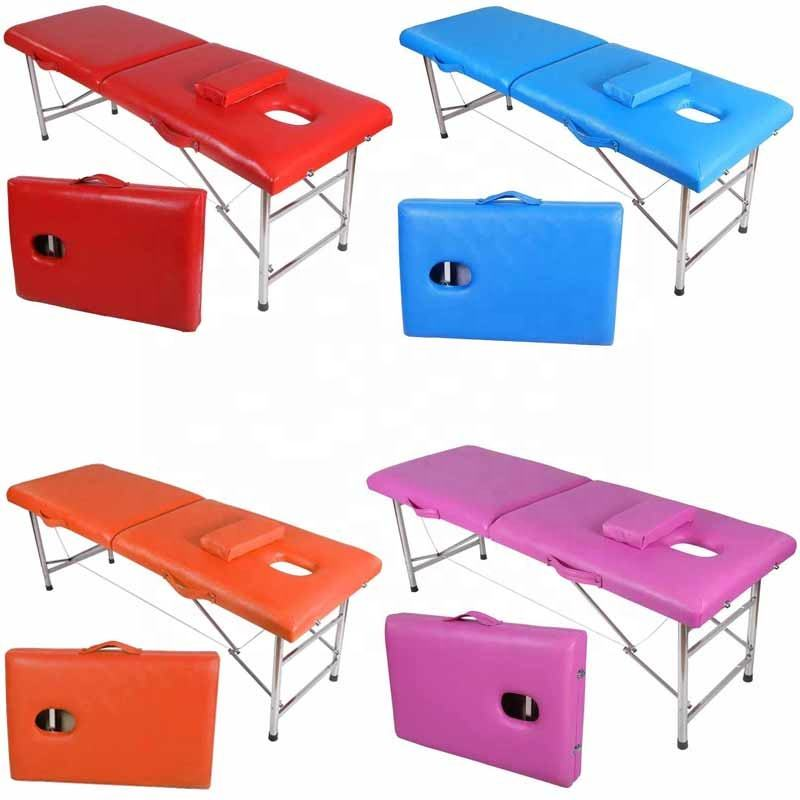 Portable collapsible tattoo beauty massage bed high quality moxibustion bed