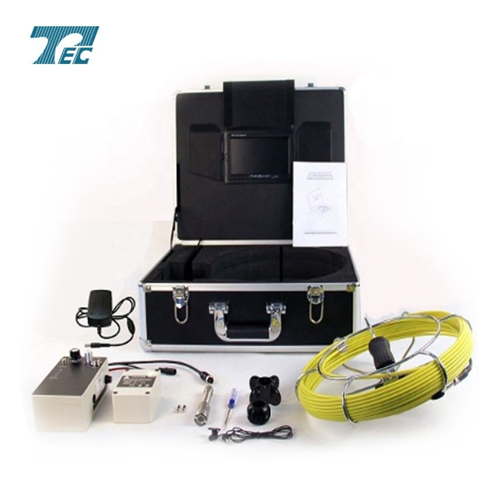 Best underground pipe and wall inspection system, sewer pipe surveillance CCTV camera TEC-Z710DM 2018 new products