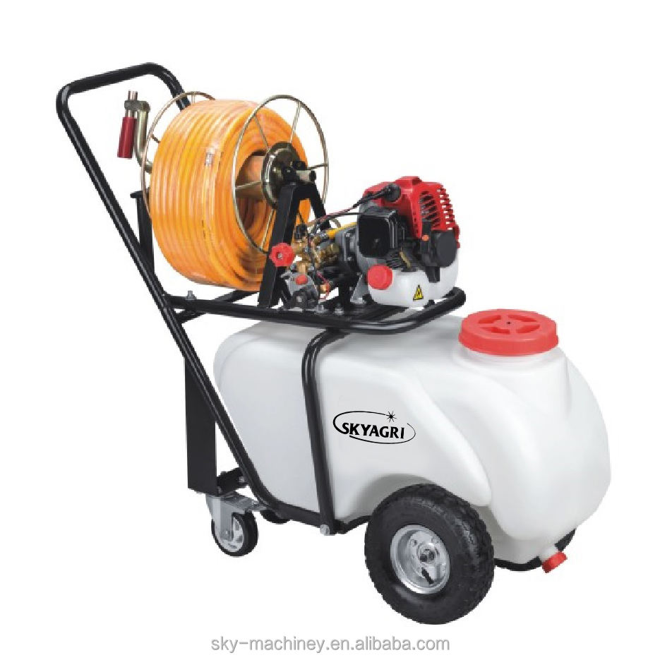60L benzin motor power sprayer pumpe