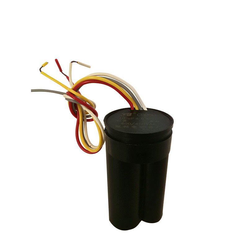 Low price CBB60 washing machine capacitor 12 +6 UF