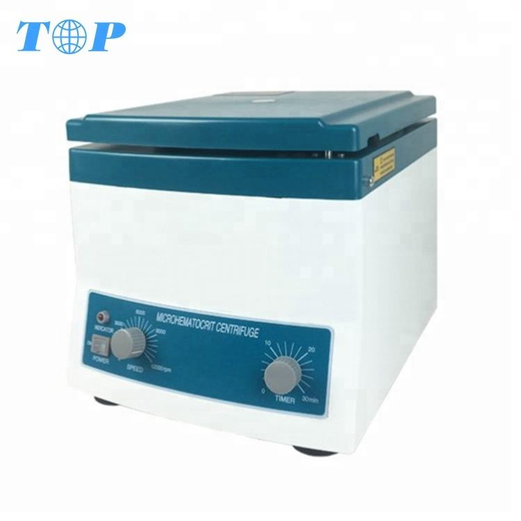 Strong Plastic Case With Metal Lid Hematocrit Centrifuge Machine Price