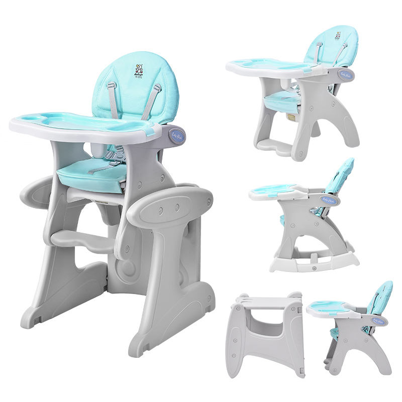 Plastic restaurant free baby eating children's high chair