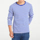 The mens and womens wholesale striped t-shirt cotton custom sailors striped shirt long sleeve unisex t shirt
