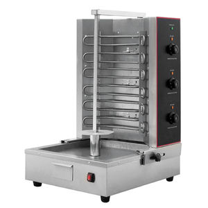 vertical electric chicken grill machine, vertical electric