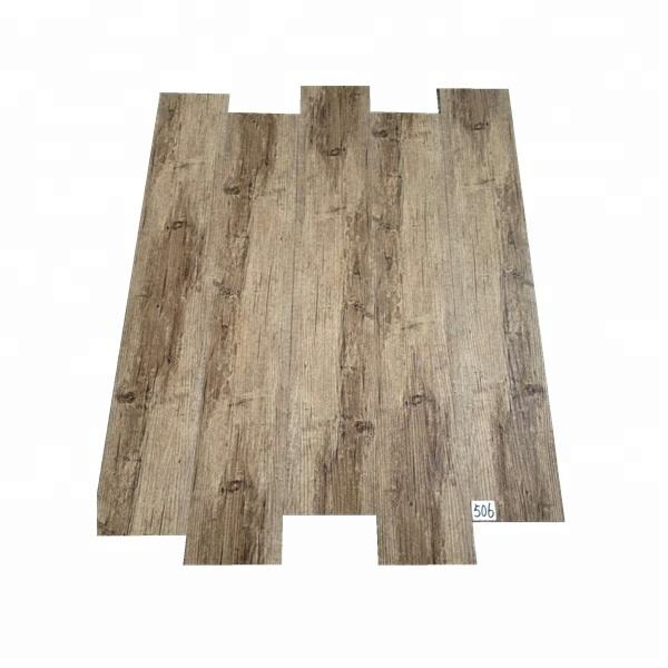 colorful PVC 4.2mm vinyl plank click floor