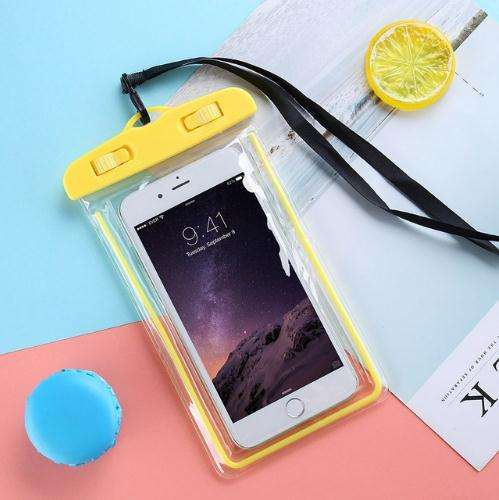 6 Inches Universal Waterproof Phone Case Cellphone Dry Pouch for Xiaomi, Samsung, Huawei, HTC