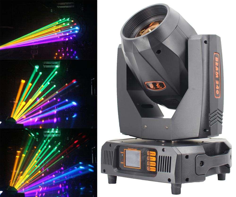 Hot selling beam 9r moving head of Xiaolong 240w beam lighting