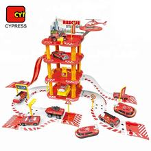 wholesale diecast model garage play set car parking toy from cypress