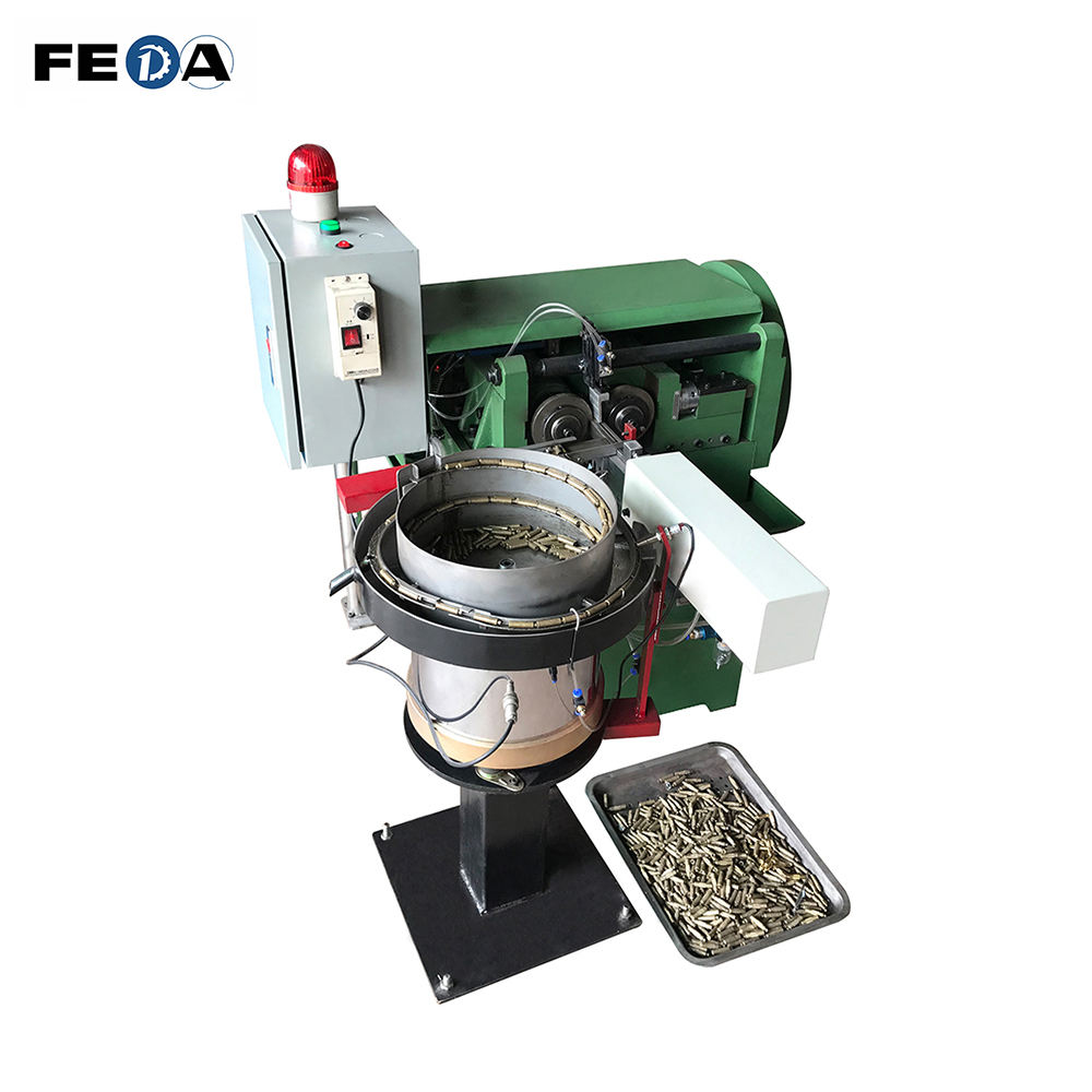 FEDA automatic high speed thread rolling machine nut bolt manufacturing machine nut and bolt making machine