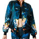 all over animal sublimation printing jacket for ladies,high quality
