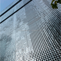 Eco-friendly  highway sound absorption perforated aluminum noise barrier ,cast acrylic sheet noise barrier