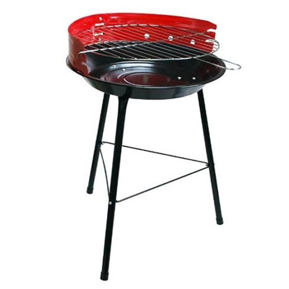36Cm Draagbare Staal <span class=keywords><strong>Houtskool</strong></span> Barbecue 14 Inch Ronde <span class=keywords><strong>Bbq</strong></span> Grill Voor Tuin Outdoor Camping Met Verstelbare Koken Hoogte