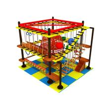 Attractions New Expand Games Children Indoor Plastic Expand Training Adventure Playground Outdoor Rope Course