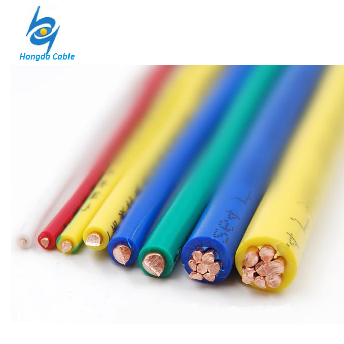THW 75 C 600V Single conductor PVC (Polyvinyl Chloride) insulated building wire