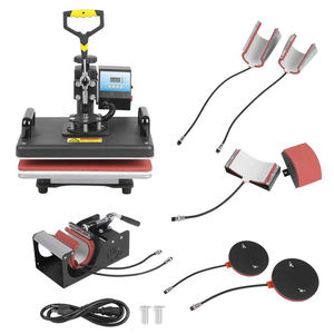 8in1 combo heat press machine magic cup T-shirt Mug Cap Plate t-shirt printing machine sublimation transfer machine