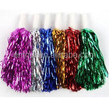 Large Cheerleader fancy dress outfit costume cheerleading pom poms CW-1015