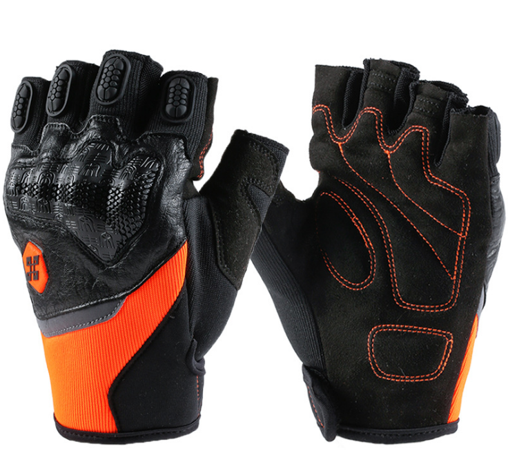 Motorcycle Gloves Custom Leather Women Racing Riding Gloves