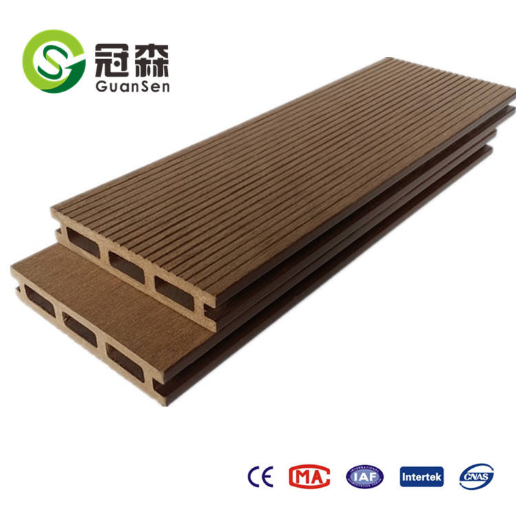 WPC composite decking for outdoor floor