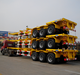 40ft 20ft 3 Axles Lowbed Container Semi Trailer Flatbed Trailer for sale