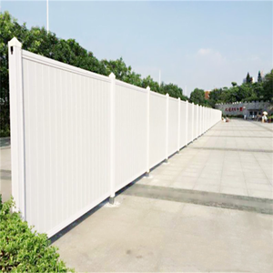 White Color Plastic PVC/Vinyl Panel High Quality Privacy Fence Panels For Sale
