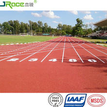 Eco Friendly Runway Track Field Rubber Running Track