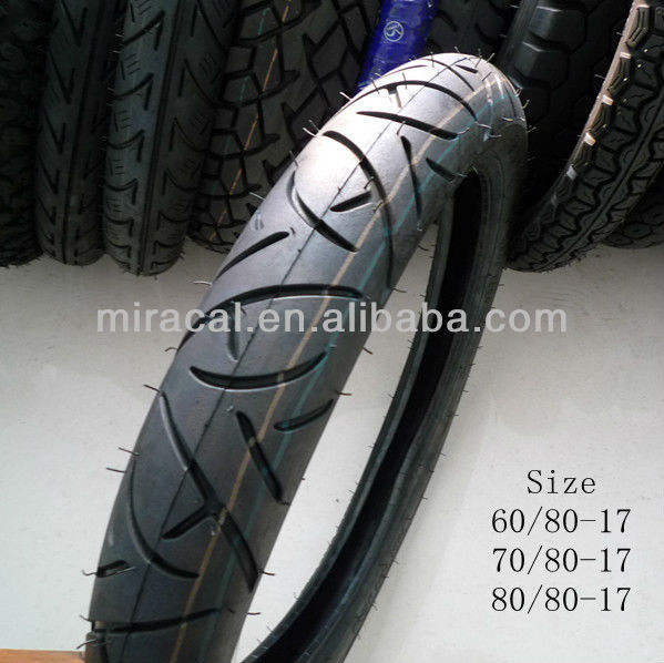 Hot Sale Motorcycle Tyre Size 80/80-17