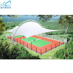 Audience tent stadium shade tent sports marquee membrane str