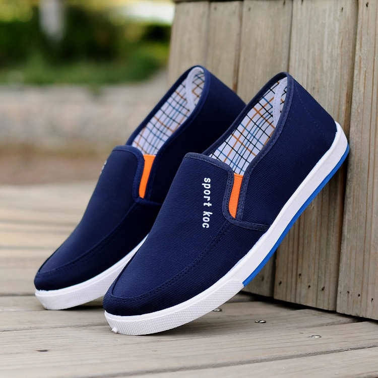 Wholesale china cheapest men casual canvas vulcanization shoes