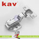 fashion 3D adjust soft close kitchen door hinge slow motion furniture hinge (K3DOH07)