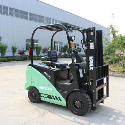 2 ton electric forklift with American Curtis controller2t forklift small mini fork lift machine electric hydraulic lifter