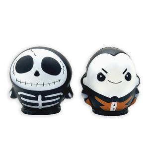 Chutai nuevo blandita lento aumento de Héroe de Halloween esqueleto vacaciones Juguetes Decoración regalos squezee juguetes Squishy juguetes de vinilo
