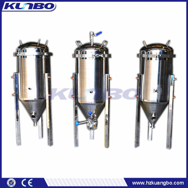 KUNBO Home Microbreweri Beer Making Machine Conical Bottom Stainless Steel Storage Tanks