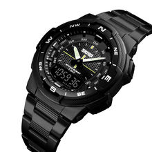 skmei top 10 hot selling clock quartz men sport  dual time wristwatch #1370