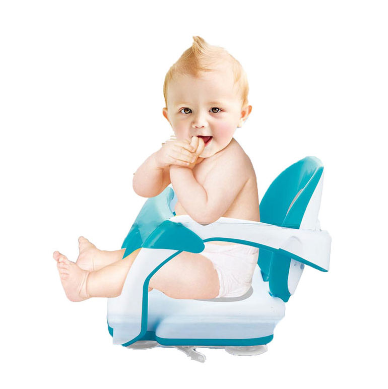 2 In 1 Portable Plastic Baby Chair Baby Bath Seat With Suctioin Cups OC0215319