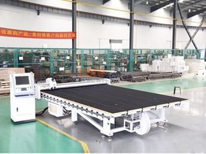 Glass Cutting Labelling Machine Line