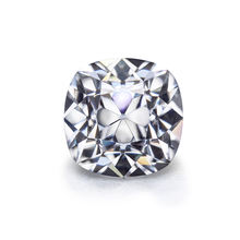 10.5*10.5mm old mine cut cushion shape moissanite for moissanite diamond jewelry