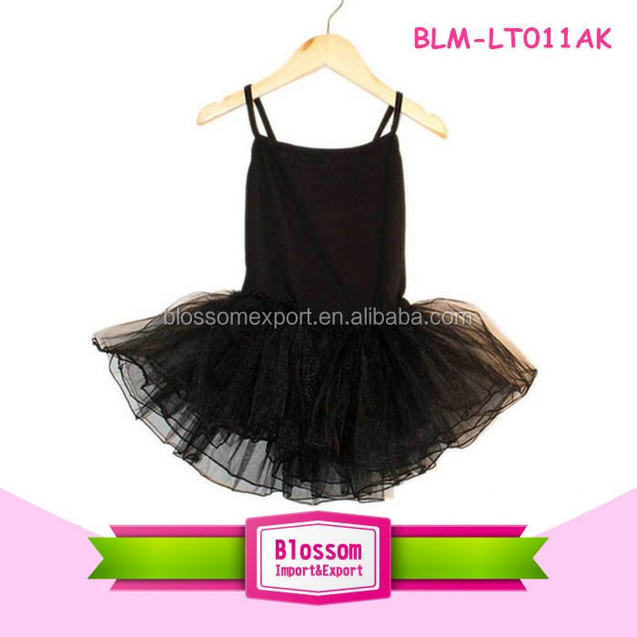 Wholesale professional girls ballet stage costumes/ black girls gymnastic leotards girls leotard dance ballet
