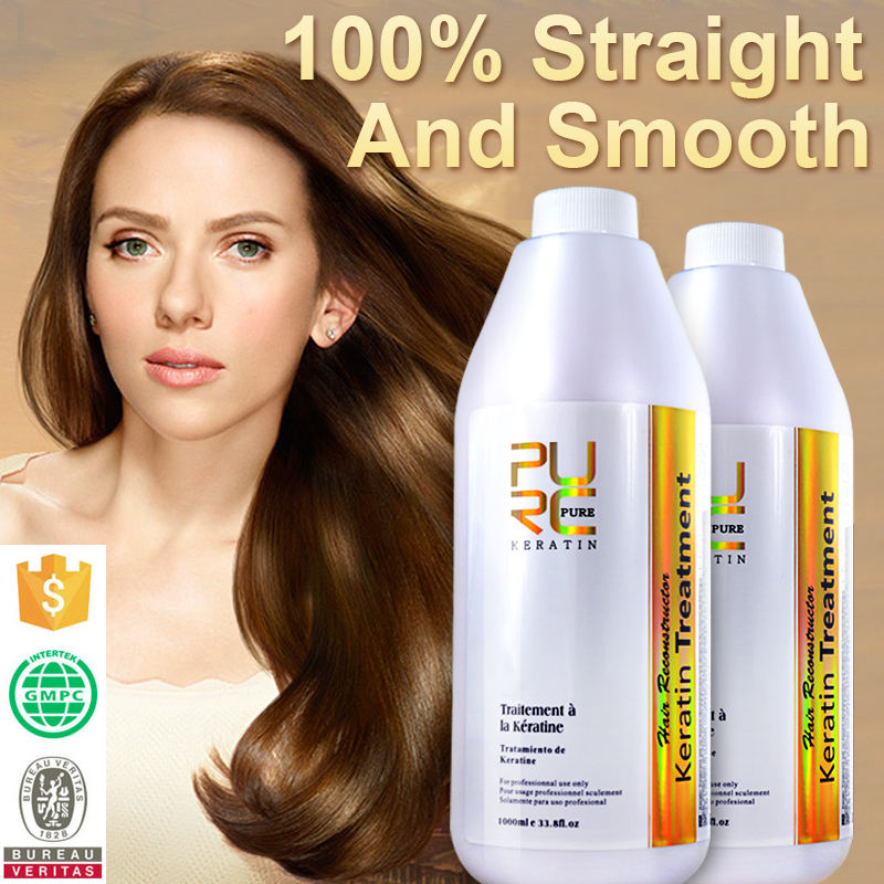 Brazilian Keratin Treatment Hair Care OEM and ODM and Private Label Hair Straighten and Repair Damaged Hair
