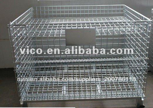 металлический поддон клетку для хранения