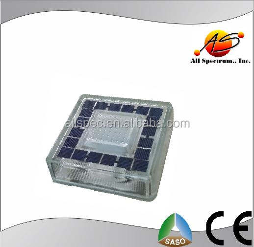 Solar LED glass brick lighting in South Africa