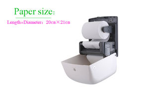 Center Pull Thermal Raw Print Roll Paper Towel Tissue Paper