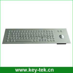 ip65 industrie edelstahl tastatur trackball