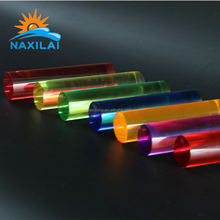 Colored Plexiglass Acrylic Rods Acrylic Bubble Rod Hexagon Acrylic Rod PMMA Polished Square/ triangle Colored 20mmwith NAXILAI