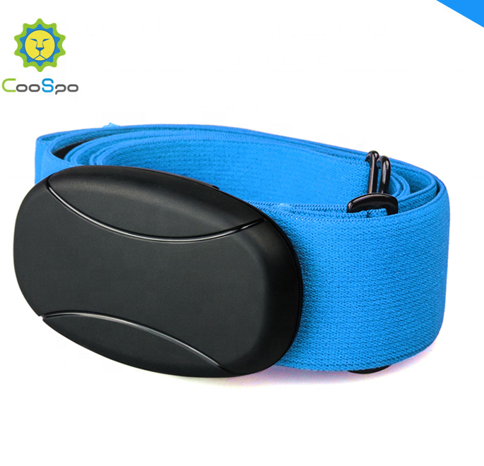 Heart Rate Monitor Smart Chest Strap Bluetooth ANT+ Heart Rate Connector Gym Equipment
