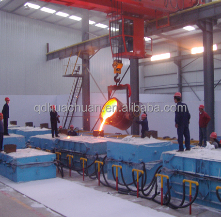 Vacuum Molding Production Line/V Processing Sand Casting Machine